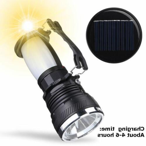 Solar LED Flash Light Lamp EN