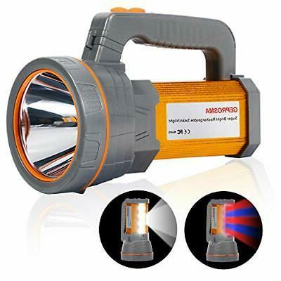 super bright rechargeable spotlight flashlight