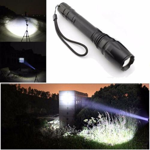 90000LM Flashlight Zoomable
