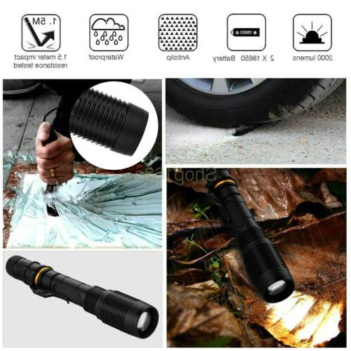 T6 Tactical LED 18650 Battery