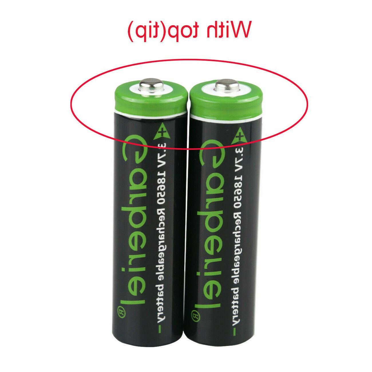 T6 LED 18650 Li-ion Batteries +Dual