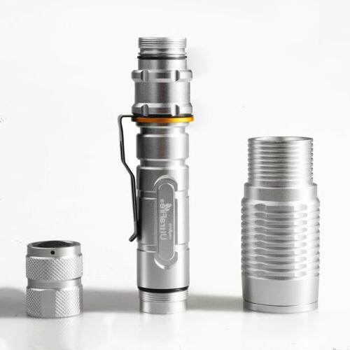 Tactical Police T6 LED Modes Flashlight Aluminum