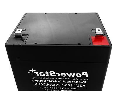 Battery 5ah 12 12v by POWERSTAR