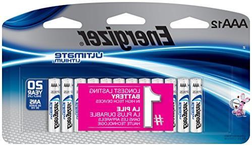 ultimate lithium aaa batteries
