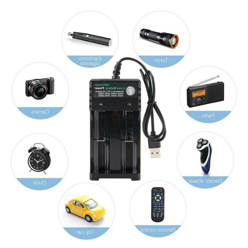 Ultra 5000mAh 18650 Battery Fire Li-ion 3.7V For