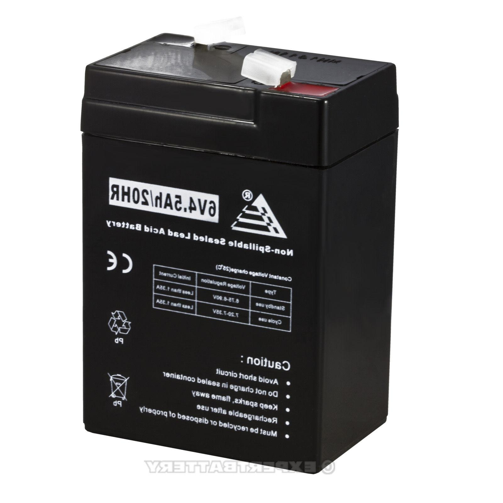 UPG Replacement 2 - BATTERY VOLT SLA VRLA RECHARGEABLE 4, 4.5,5