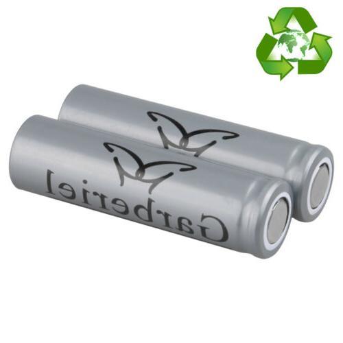 US Lot Garberiel Battery Flat 3.7V Li-ion