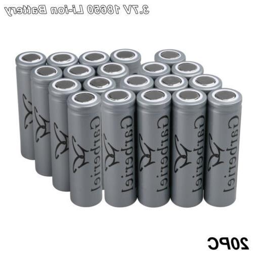 US Garberiel Battery Top 3.7V Li-ion Rechargeable Batteries