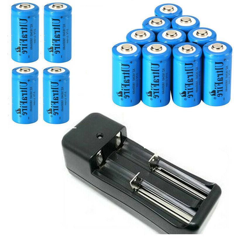 usa 1800mah 16340 cr123a 3 7v rechargeable