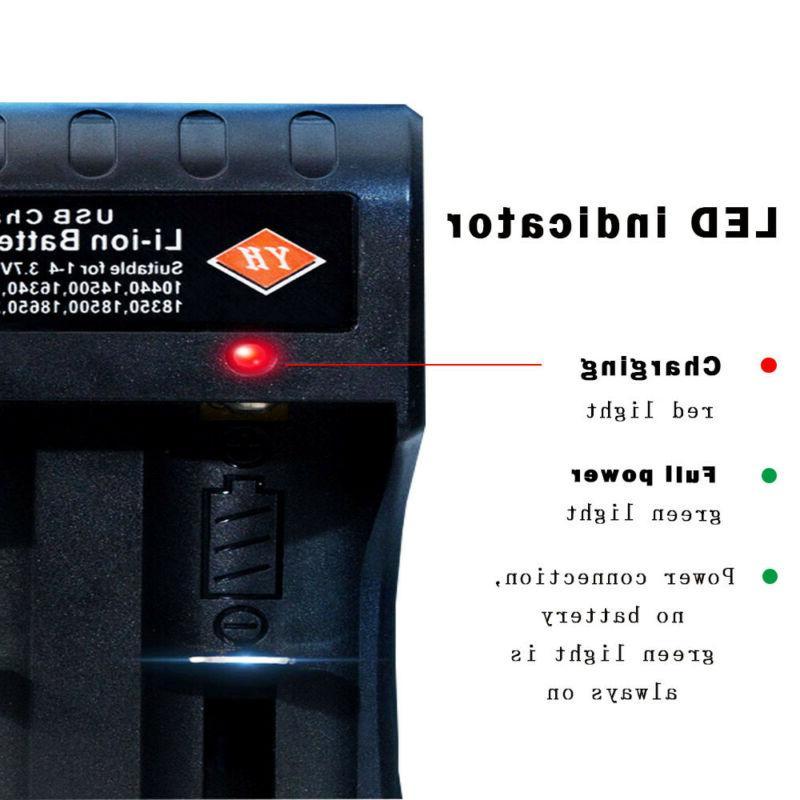 4 ULTRAFIRE button top+4-Slot USB