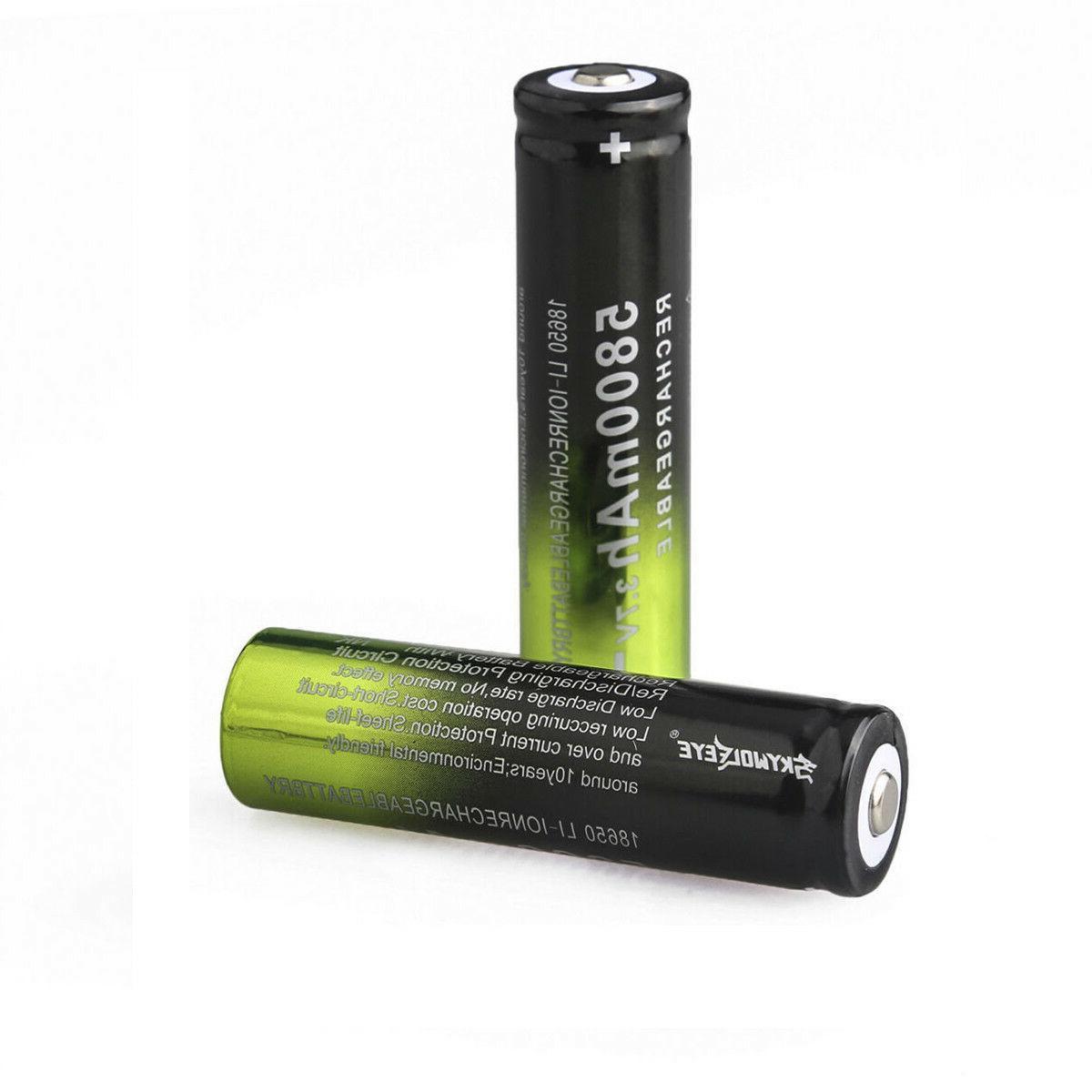 USA 18650 Battery 3.7V Li-ion Intelligent
