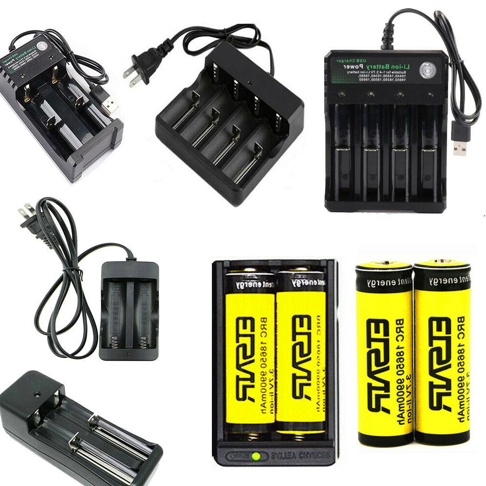 USA 9900mAh Rechargeable 18650 Battery 3.7V Li-ion Batteries