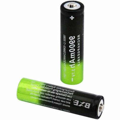 USB Dual Battery Smart Charger Rechargeable Battery
