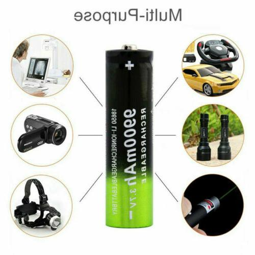 USB Dual Battery Smart Rechargeable
