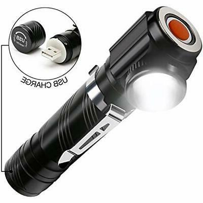 usb handheld flashlights rechargeable led tactical 18650