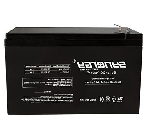 genuine verizon fios replacement pk1270 battery 12v