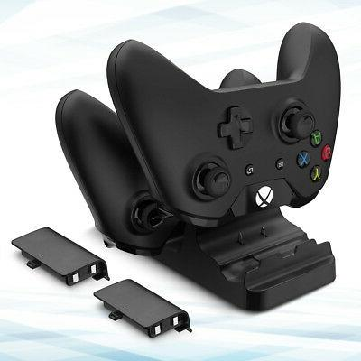 XBOX Dock w/ Rechargeable