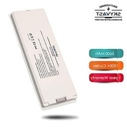 """Skyvast White A1185 A1181 MacBook Battery for Apple 13"""" MacB"""