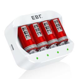 EBL Li-ion Battery Charger for 16340/RCR123A 123A 17335 Rech