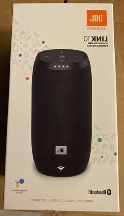 JBL Link 10 Voice-activated Portable Speaker Google Assistan