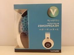 Vivitar Listen Up Bluetooth Headphones | Over Ear | WHITE |
