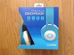 Vivitar Listen Up Bluetooth Over Ear Headphones VM14235 Blue