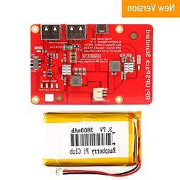 MakerFocus Raspberry Pi Battery Pack,RPI UPS Pack StandardNe