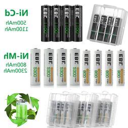 EBL Lot 1.2V AA AAA 500/800/1100/2300mAh NI-MH/NI-CD Recharg