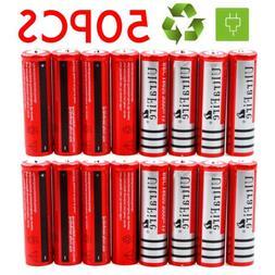 Lot 18650 3.7V 3000mAh Li-ion BRC Rechargeable Battery For F