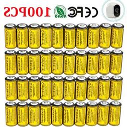 Lot 2800mAh CR123A Battery Li-ion 16340 Rechargeable for Arl
