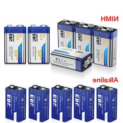 lot 280mah 9v nimh rechargeable battery w
