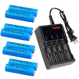 Lot UltraFire Rechargeable Battery 18650 3000mAh Li-ion 3.7V