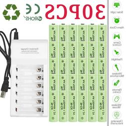 Lot 700mAh AA Rechargeable Battery NiCd 1.2V for Garden Sola