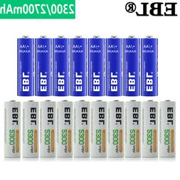 Lot AA 2300mAh Rechargeable NI-MH / Non-Rechargeable Alkalin
