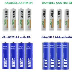 Lot EBL AA AAA Rechargeable NI-MH / Non-Rechargeable Alkalin