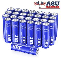 Lot EBL AA Alkaline Batteries 1.5V LR6 LR91 AM3 Battery Fr G
