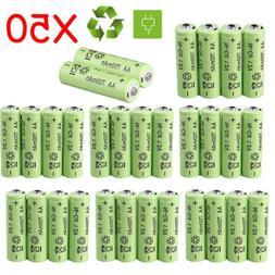 Lot Rechargeable NiCd AA Batteries 1.2v 700mAh Battery For G