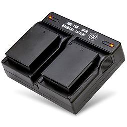 lp e10 batteries usb dual