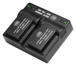 BM Premium 2-Pack of LP-E12 Batteries and USB Dual Battery C