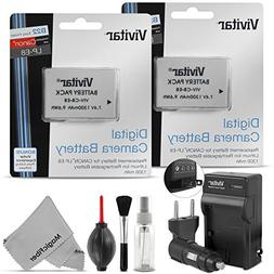 Vivitar LP-E8 Battery and Charger Kit for CANON REBEL T5i T4