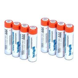Maximal Power AAA4X2 8-Pieces AAA 1200mAh Ni-MH Rechargeable