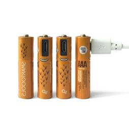 MicroUSB Rechargeable Batteries AAA