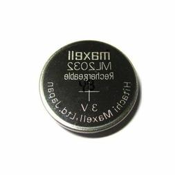 Maxell ML2032 2032 One Single Li-ion Rechargeable Coin Cell