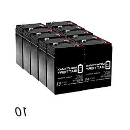 Mighty Max Battery ML4-6 - 6V 4.5AH SLA Battery replaces cp0