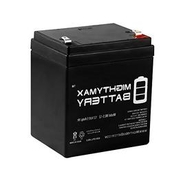 12V 5AH SLA Battery Replacement for ION Audio Tailgater Acti