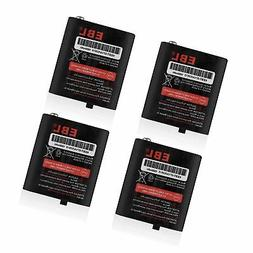 EBL Pack of 4 Two-Way Radio Rechargeable Batteries 3.6V 1000