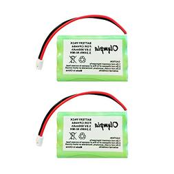 2 Pack of 900mAh Motorola TFL3X44AAA900 Battery - Replacemen
