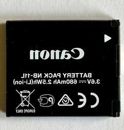 Canon NB-11L Rechargeable 3.6V 680mAh 2.5Wh Li-Ion Battery f