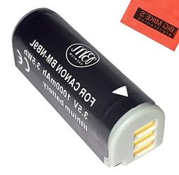 BM Premium NB-9L Battery For Canon PowerShot N, N2, Elph 510