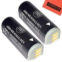 BM Premium 2-Pack NB-9L Battery For Canon PowerShot N, N2, E